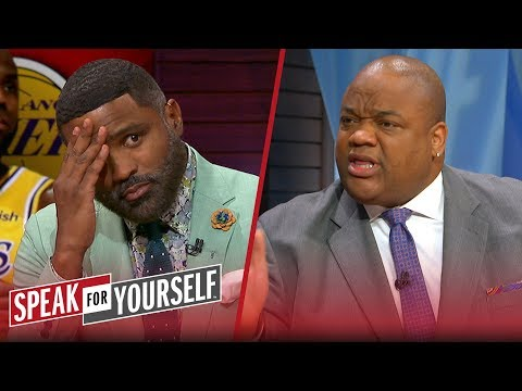 Jason Whitlock & Cuttino Mobley disagree LeBron can't handle adversity | NBA | SPEAK FOR YOURSELF