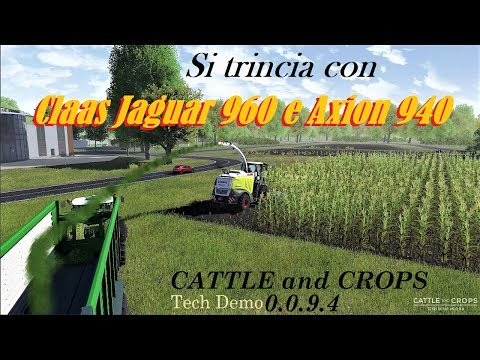 Cattle and Crops - Si trincia con Claas Jaguar 960 - Claas A