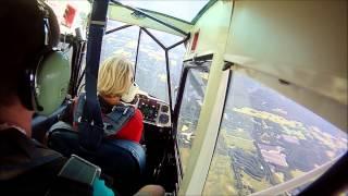 Patty Wagstaff Aerobatics in a Super Decathlon