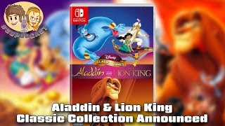 Aladdin and Lion King Classic Game Collection Announced