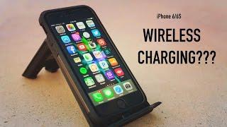 Spigen iPhone 6/6s Tough Armor Volt Case + Wireless Charger Review!