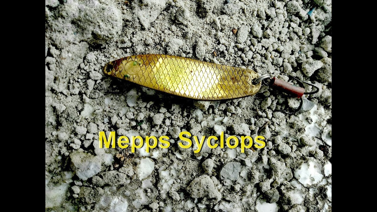Блесна MEPPS SYCLOPS - YouTube