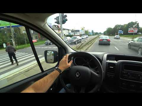 Renault TRAFIC 1.6 dci  4K | Test Drive #19 POV