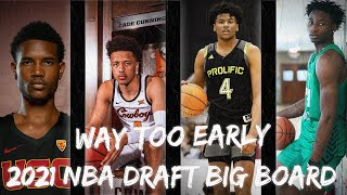 Way Too Early 2021 NBA Draft Big Board | Future Superstars?