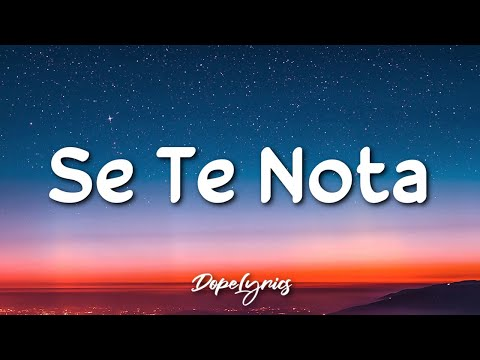Se Te Nota – Lele Pons, Guaynaa (Letra/Lyrics) 🎵