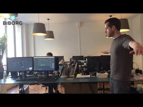 Biborg Lab - Realtime Avatar with Kinect 2 and Unity 3D