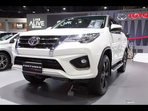 The New 2019 Toyota Fortuner All Type Concept Limited Edition