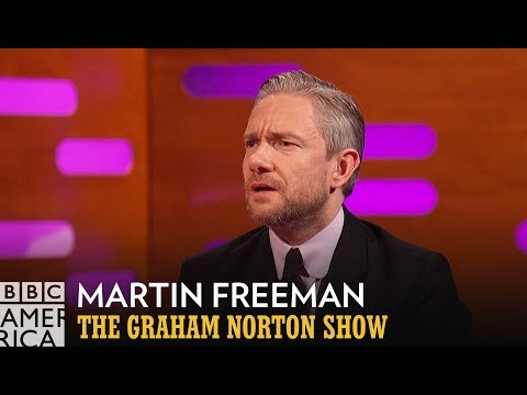 Martin Freeman Lives in Fear Every Time He Eats Chips  The Graham Norton