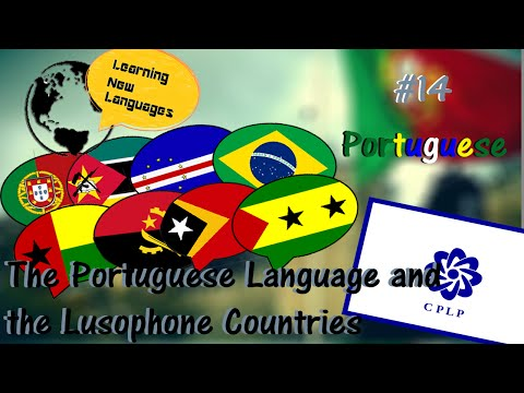 Portuguese Language and the Lusophone Countries - #14