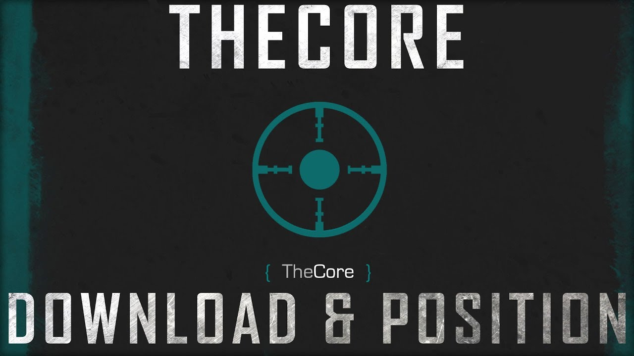 Starcraft 2: TheCore Download and Positioning