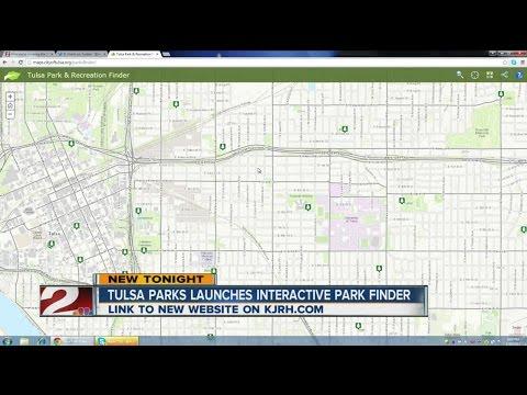 Tulsa Parks Interactive Map