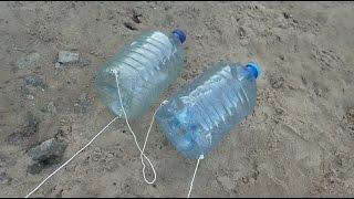 Ловушка для рыбы из пластиковой бутылки 😎😎 Лайфхак от Михалыча #1
