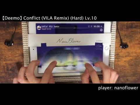 【Deemo ver.3.1 coming!】Conflict(VILA Remix)[Hard] All Charming 100.00%【Deemo】
