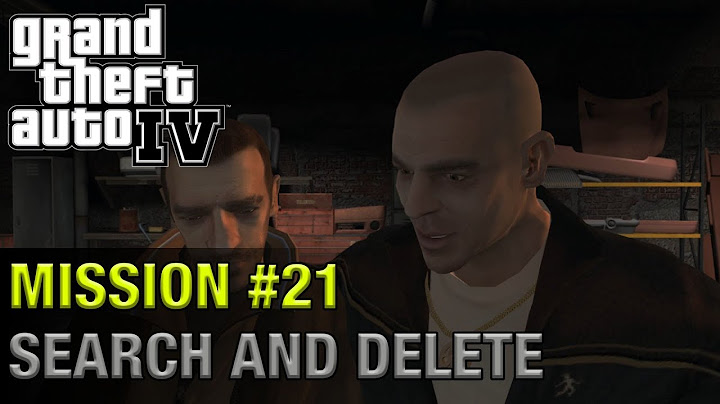 grand theft auto iv  mission 21  search and delete  1440p 60fps