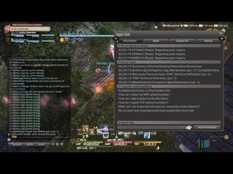 FFXIV Bots trying to buy house after purchased, CHEATERS