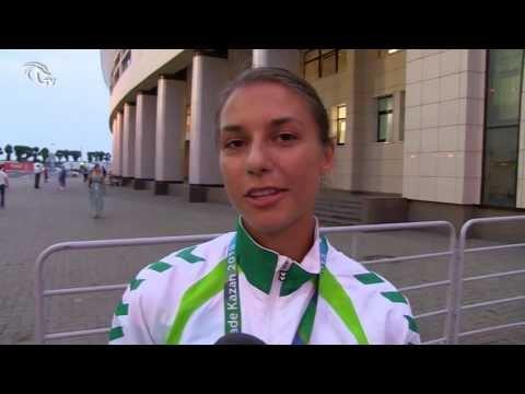 Universiada: Eglė Balčiūnaitė galingu finišu išplėšė bronzos medalį