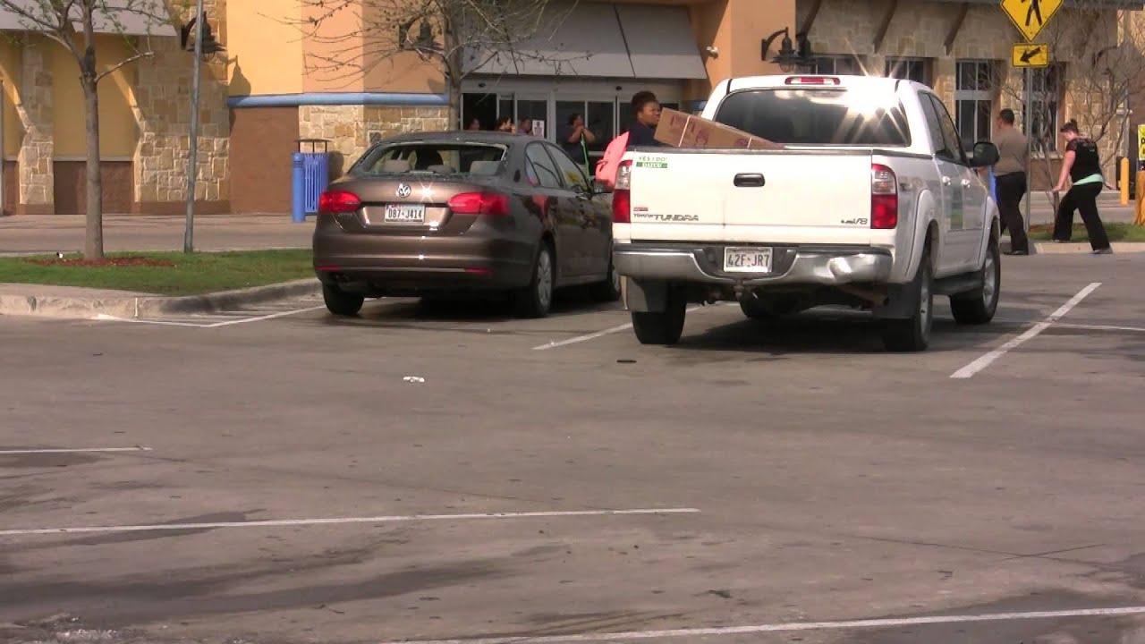 Denton Texas Baseball Sized Hail Damage WalMart And TWU