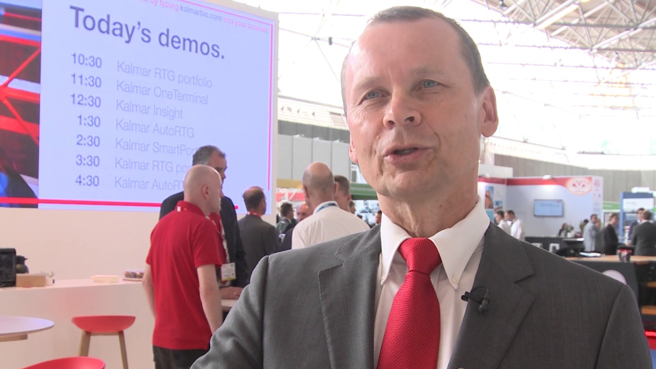 Automated Intelligence in Port Machines - Kalmar President