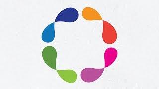 Adobe Illustrator Tutorial | 3D Abstract Gradient Colored Logo | 2D to 3D Design in illustrator