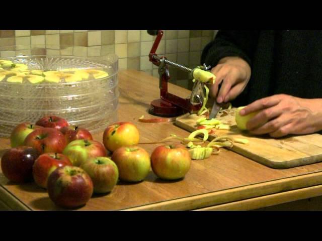 Comment faire des pommes séchées