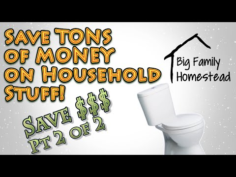 Save TONS of MONEY on Household Items 2 of 2