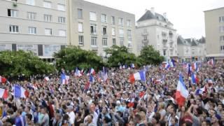 La Marseillaise chantée à Caen lors de France - Allemagne 4 juillet 2014 Download