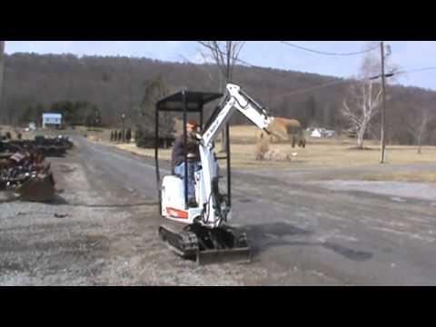 2004 Bobcat 316 Compact Micro Mini Excavator Kubota Diesel For Sale Youtube