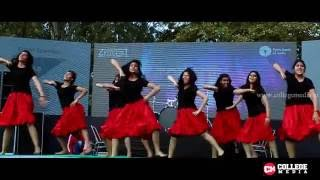 top 10 college bollywood group dance performances