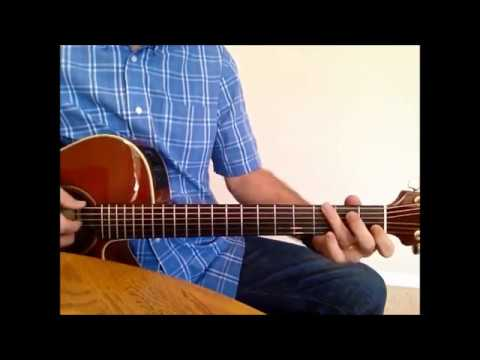 If Tomorrow Never Comes Guitar Lesson Kevin Skinner Version - YouTube
