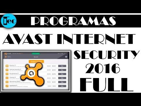 Avast Internet Security 2016 full Español