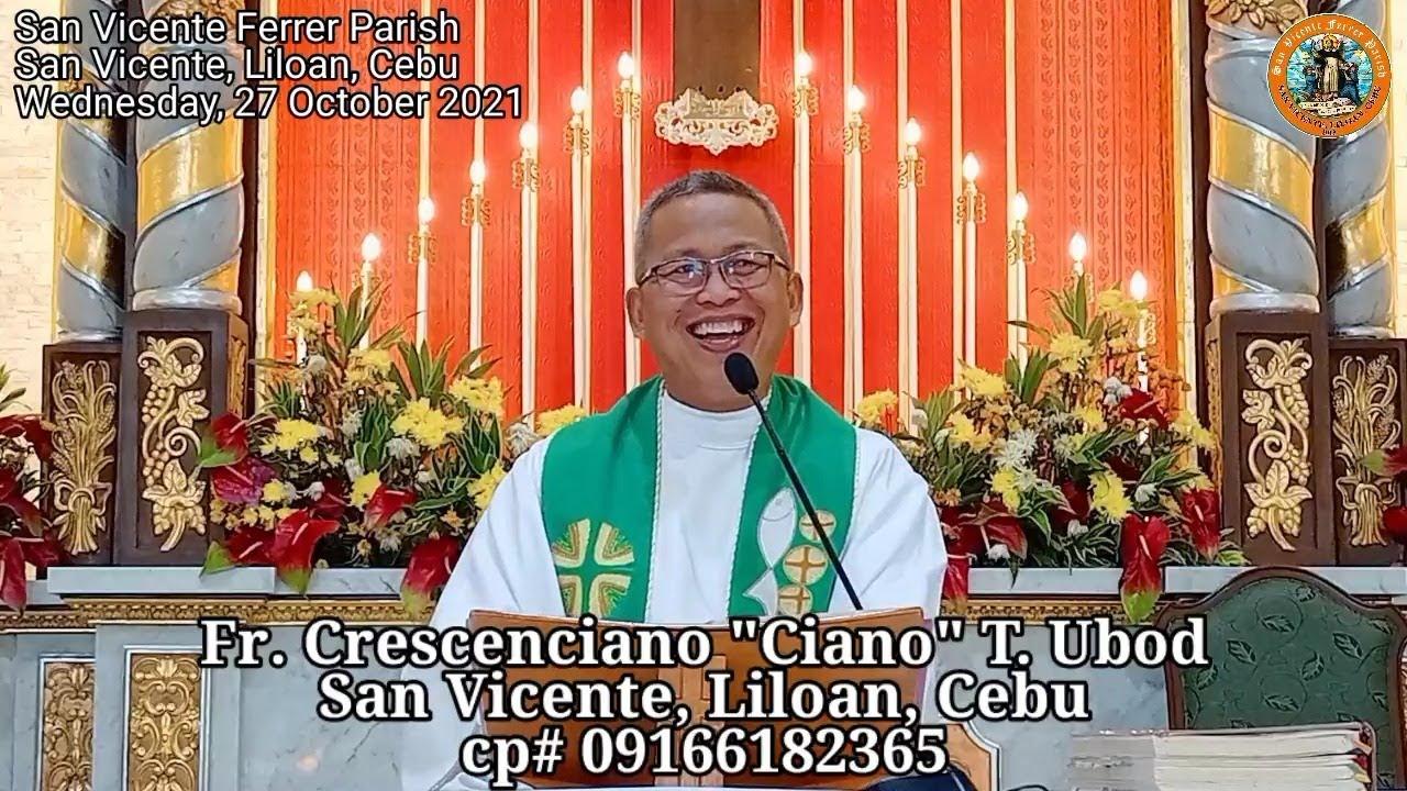 """Download """"Unsaon aron di ta maulahi sa Langit?"""" 10/27/2021 Misa ni Fr. Ciano"""