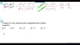 muratatikmatematik.com/ÜSLÜ SAYILAR TANIMI-ÖRNEK-7/ muratatik.net//Murat Atik Matematik