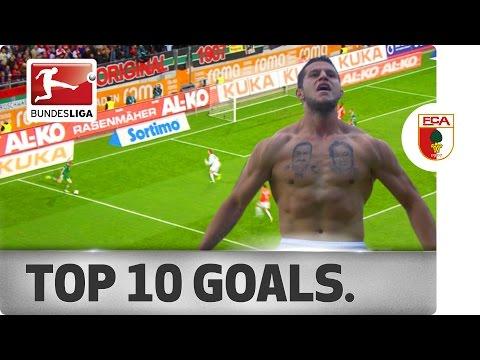 Top 10 Goals - FC Augsburg
