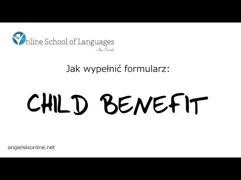 Jak wypełnić formularz Child Benefit