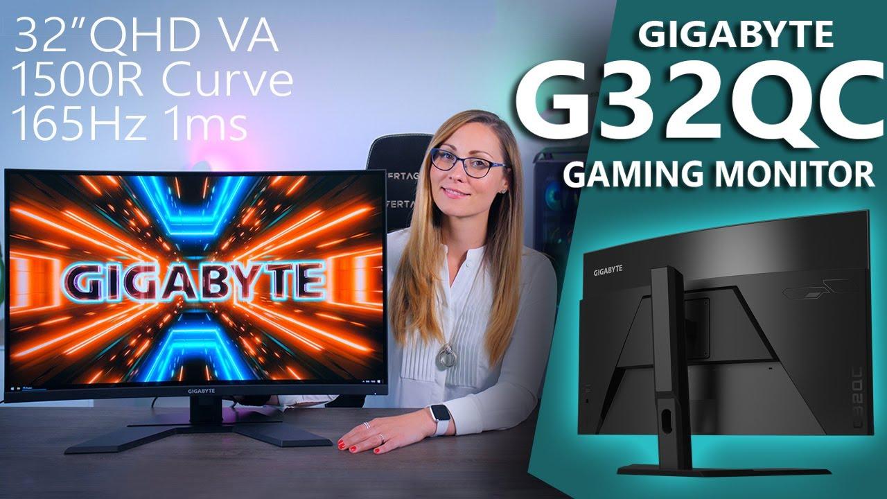 Killer Contrast! - Gigabyte G32QC Gaming Monitor Review (31.5