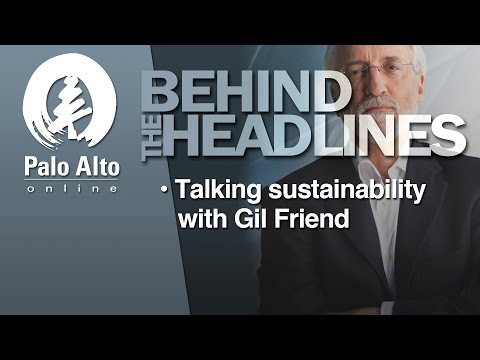Behind the Headlines - Talking Sustainability with Gil Friend