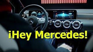 Navegando con realidad aumentada y reconocimiento vocal: Jugando con el MBUX de Mercedes Benz