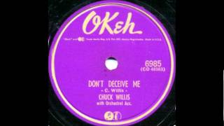 Chuck Willis, (Solo) - Don