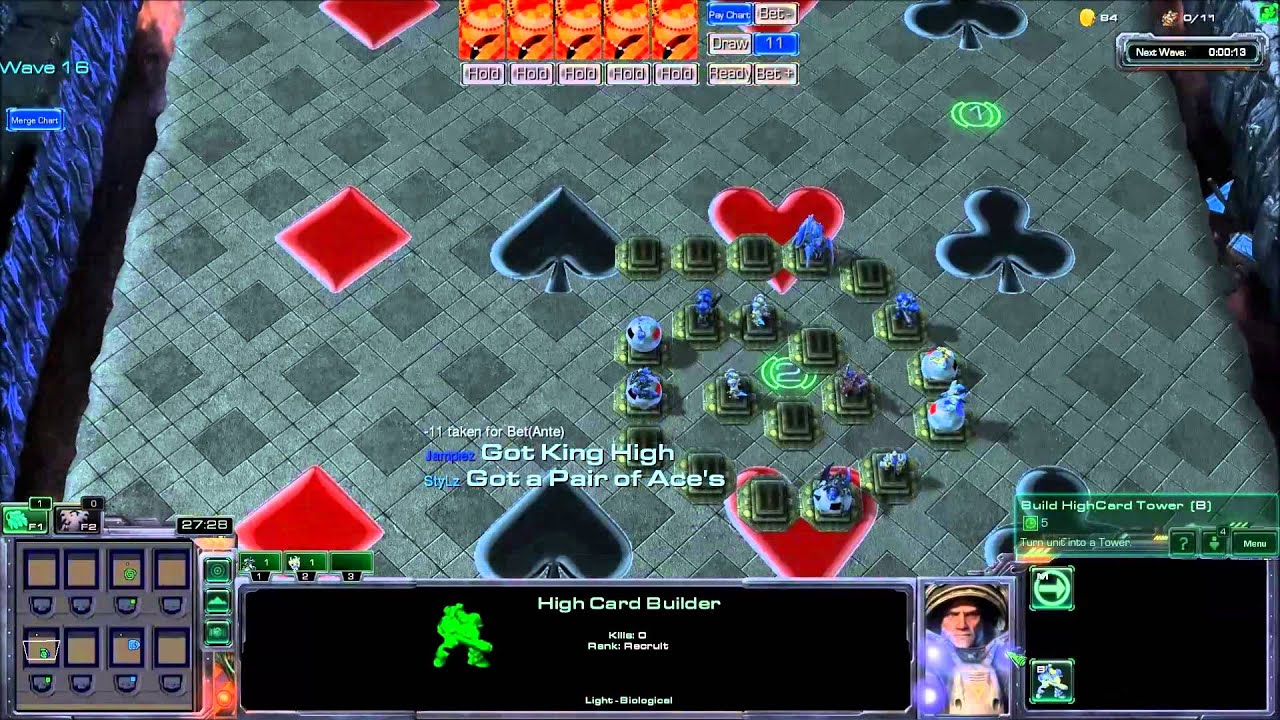 Poker defence starcraft map / Casino jobs calgary alberta