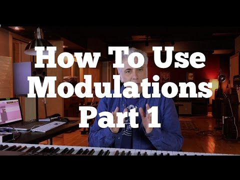 Music Theory Lecture: How To Use Modulations Part 1