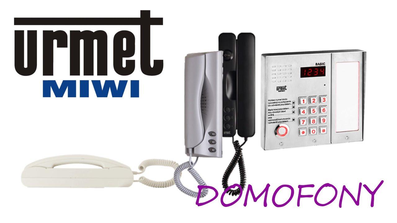 Domofon Miwi Urmet 1131 1132 1134 1140 Basic Sinthesi Door