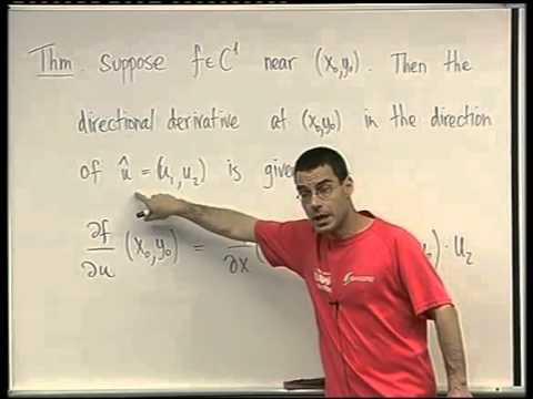 37 - Directional derivatives