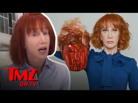 Secret Service Investigating Kathy Griffin's Trump Photo | TMZ TV
