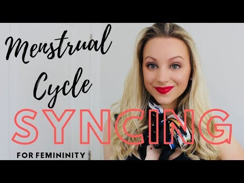 Menstrual Cycle Syncing (for femininity)