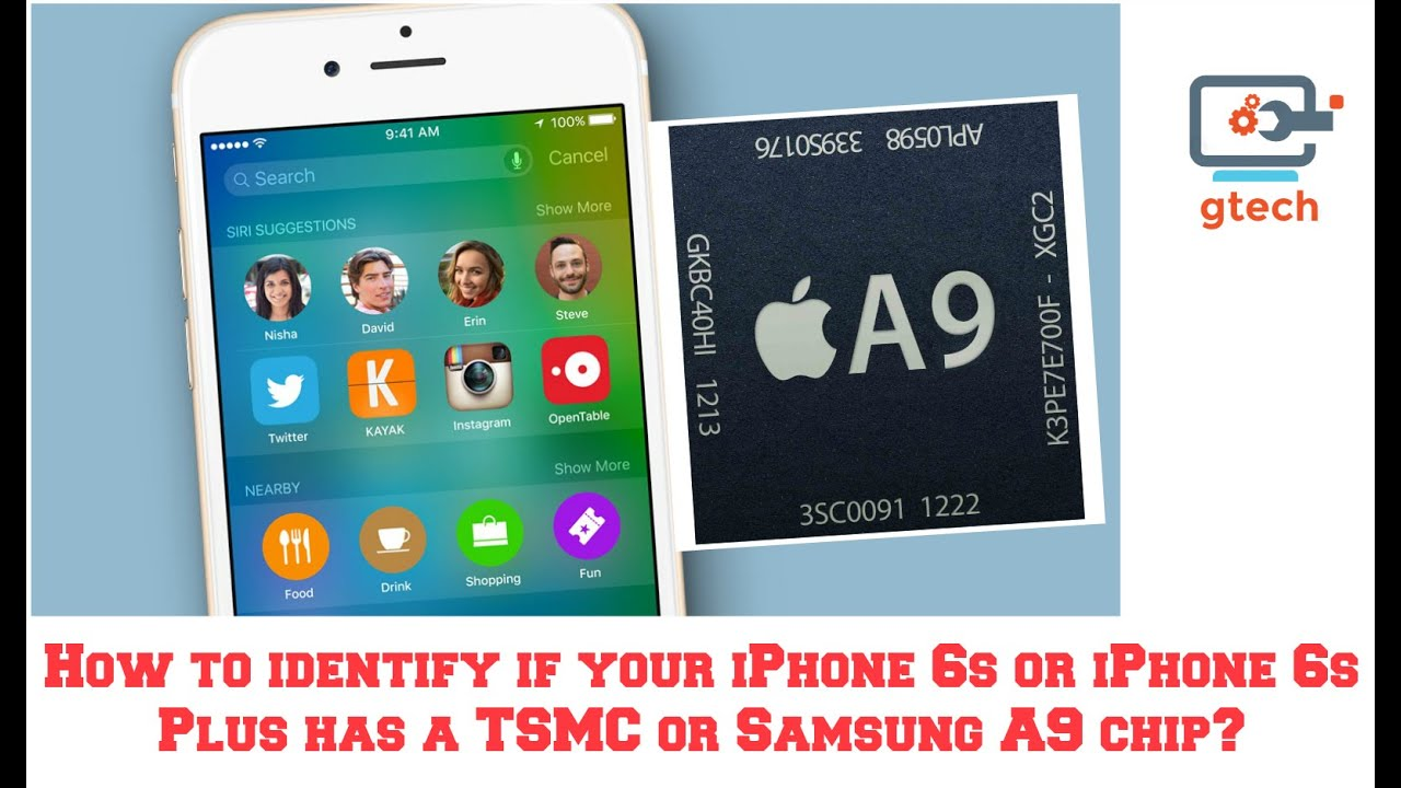 how to tell what iphone you have how to identify if your iphone 6s has a tsmc or samsung a9 8338