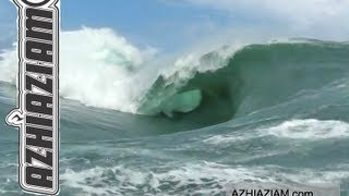 Uncut RAW Teahupoo Code Red swell and contest days