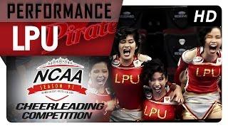 NCAA 91 Cheerleading Competition: LPU Pirates Pep Squad