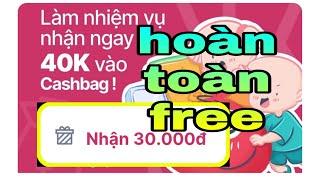 🏆Cơ hội chỉ đến 1 lần | Sự kiện nhận tiền hoàn tòan miễn phí/cashbag hoàn tiền