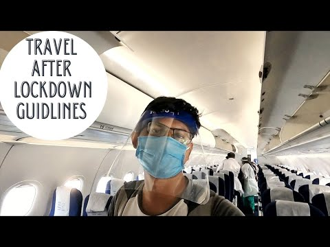 Bangalore to Lucknow | Flight Experience after Lockdown | Airport Procedure