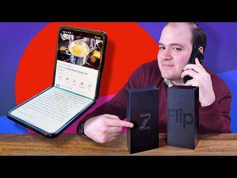 Galaxy Z Flip unboxing!